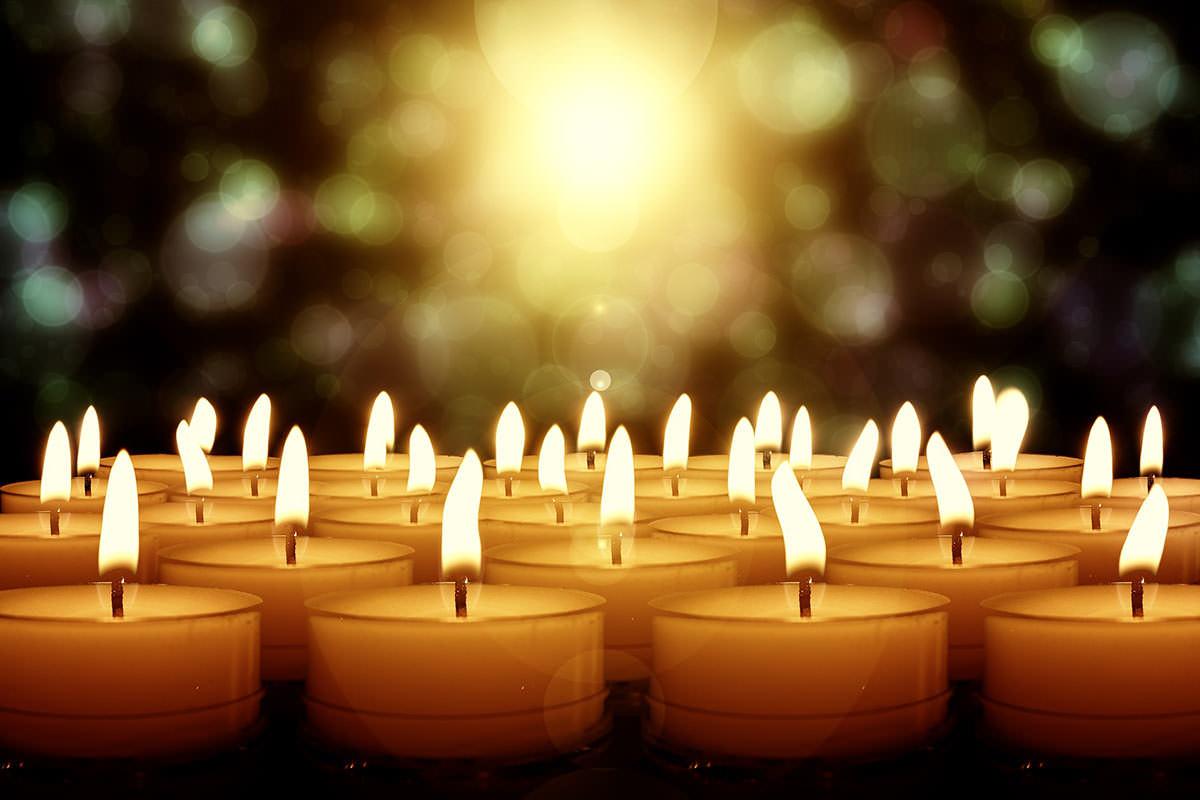 feu bougies